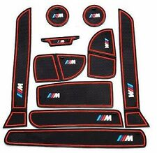 384- ///M BMW 10 PC MAT SET For BMW NEW 3 series F30 F35 320i 316i 328 320d RED