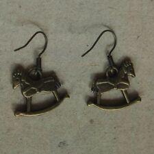 Ohrringe Schaukelpferd *Neu* Ohrhaken frei von Nickel, Cadmium und Blei