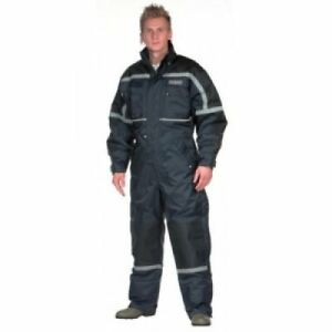 OCEAN Thermal Coverall Navy size 2XL Waterproof, padded, comfortable, warm