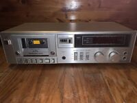 Technics RS-M215 Vintage Silver Face Stereo Tape Cassette Deck Player JAPAN