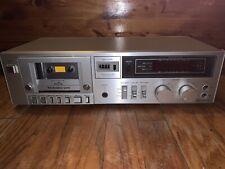 Technics RS-M215 Vintage Silver Face Stereo Tape Cassette Deck Player JAPAN
