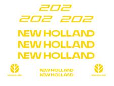 NEW HOLLAND 202 MANURE SPREADER DECAL KIT STICKER SET