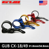 31.8/34.9mm MTB Road Bike/Bicycle Seatpost Clamp Quick Release Seat Post Clamps
