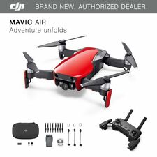 DJI Mavic Air - Flame Red Drone - 4K Camera, 32MP Sphere Panoramas!