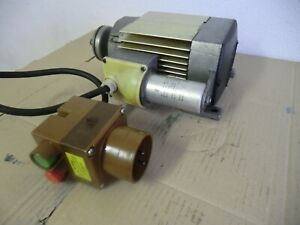 Elektromotor  AEG  230 Volt mit Kondensator und Einschalter
