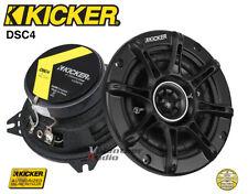 """Kicker DS Series 1 Set DSC4 4"""" 4-Ohm 30 Watt Rms Co-Axial Speaker"""