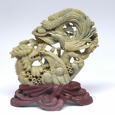 China, Stein- Skulptur, feine Arbeit, ca. 15,5 x 17 cm,  中国雕塑石, 精细工作