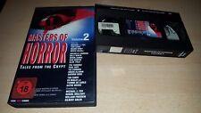 Cryptkeeper - Masters of Horror - Vol. 2 - VPS Verleihtape - VHS - ab 18