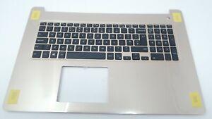 Dell Inspiron 17 5770 UK Layout Keyboard Palmrest - Gold - X7R3D