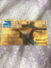 RSPB Pin Badge Robin 'Robin Of Sherwood'