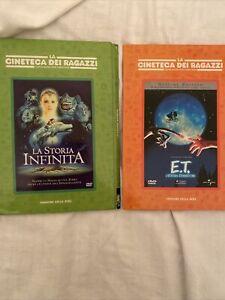 Lotto 2 Dvd La Storia Infinita Ed ET