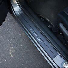 Door Sill Plate Protectors Black Matte Vinyl fits Honda Accord 09 2010 2011 2012