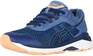 ASICS GT-2000 Women Indigo Blue/Indigo Blue/Smoke Fabric Running Shoes  US 6