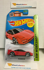 '90 Acura NSX #218 * RED * Hot Wheels 2015 USA Card * Y2