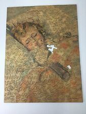 Vintage c1930 Hand Cut Wooden Jigsaw Puzzle Marion Mfg. Co Inc
