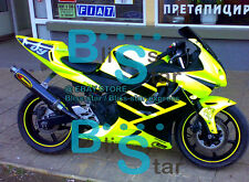 Yellow Glossy ABS Fairing With Tank Cover Kit Fit HONDA CBR600F2 1991-1994 48 A2