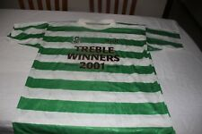 CAMISETA CELTIC GLASGOW TREBLE WINNERS 2001 T/XL O,NEILL 3 VINTAGE ESCASA  SHIRT