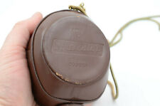 Gossen Sixticolor Original Light Meter In Leather Case With Metal Strap - WORKS