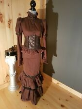 Lip Service Step in Time Jacket and skirt set. womens small. steampunk/ goth/...