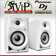 "Pioneer DJ DM-40BT-W 4"" Bluetooth Desktop Studio Monitor Active Speakers (White)"