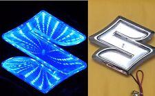 3D LED Car Tail Logo Auto Badge Light Blue light for Suzuki Swifi Jimmy