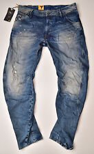 G-STAR RAW, Arc 3D Loose Tapered, Used Vintage Look Jeans W32 L32 Neu !!!