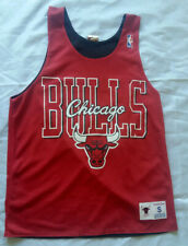 Chicago Bulls Mitchell & Ness NBA Double Sided Jersey Basketball Size: S