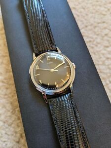 TIMEX - Todd Snyder Marlin Black (reissue) 34mm BRAND NEW w/ Box Papers