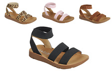 Baby Toddler Girls Strappy Sandals Gladiator Summer Spring Shoes Sz 4-8