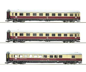 """Roco H0 74073 Wagen-Set 2 """"TEE 74/75 Roland"""" der DB 1:87 - NEU + OVP"""