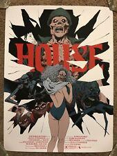 Robert Sammelin House Movie Art Print Poster Mondo Horror William Katt Witch Ben