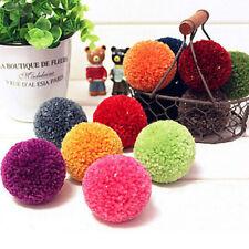 4pcs 4 Sizes Pompon Set Appareil Bommel Pom Pom Maker Clover Fluff Ball Weaver