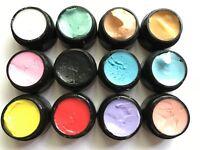 4D Paste UV/LED Gel SET 12 Farben Nailart Paste für Blumen und Volumen Designe