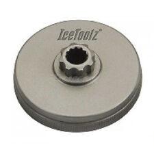 Icetoolz For Shimano Hollowtech II compatible crank adaptor, Cr-Mo steel