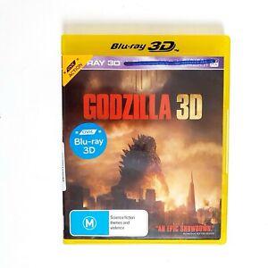 Godzilla 3D Movie 3D Bluray Movie - Free Postage Blu-ray - Monsters Action