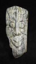 Mastodon/Stegodon Carving - Island of Java.  Fossil bone carving EXTRA LARGE