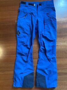 Black Diamond Mens Misson Ski Pants, Size M, snowboarding pants