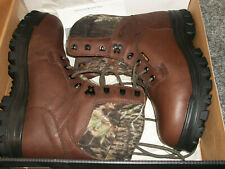 Wolverine Prairie Trekker Boots Thinsulate,Gore Tex Brown Mossy Oak New in Box