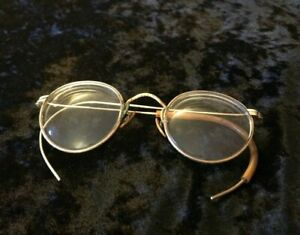 Vintage Baush & Lomb B&L Eye Glasses Ful-Vue Bi Focal 1/10 12k GF