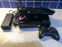 XBOX 360 S 250GB CONSOLE Xbox Kinect Power Pack And Controller Bundle Working
