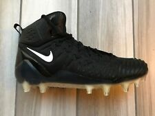 Nike Force Savage Pro Football Cleats Size 10 Black White