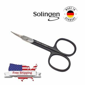 Cuticle Nail Curved Scissors Arrow Point Extra Super Sharp Professional Solingen