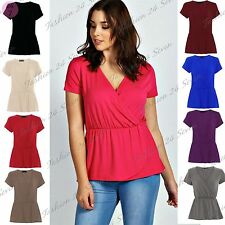 Blouse Viscose Cap Sleeve Plus Size Tops & Shirts for Women