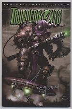 Thunderbolts # 5 VARIANT-signé-Bande dessinée Action 2009-TOP