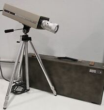 General Electric Closed Circuit 500 4TE23A2 TV Television GE Camera with Tripod