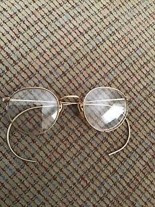 Vintage Ful-Vue 12k Gold-Filled Wire Rimmed Eyeglasses