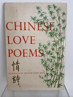 Vintage 1959 CHINESE LOVE POEMS by D. J. Klemer, Color Illustrated by Seong Moy