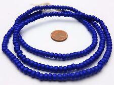 Strang ältere lapis blaue pony beads aus Böhmen