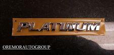 """2017-2018 Rav4 & Rav4 Hybrid Rear """"Platinum"""" Emblem OEM PT413-42170 GENUINE OEM"""