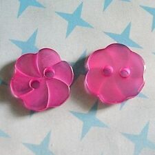30 Flower Swirl Sweater Cardigan Craft Kid Baby Sewing Buttons 11.5mm D245